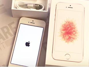 Apple iPhone SE: <br> unboxing